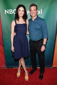 Joanne Kelly and Eddie McClintock fromWarehouse 13attend the 2013 NBC Universal Summer Press Day at The Langham Huntington Hotel and Spa April 22, 2013 in Pasadena, California.