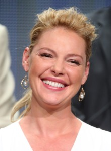 """Actress Katherine Heigl speaks onstage at the """"State of Affairs"""" panel during the NBCUniversal portion of the 2014 Press Tour at The Beverly Hilton Hotel on July 13, 2014 in Beverly Hills, CA (Source: Frederick M. Brown/Getty Images North America)"""