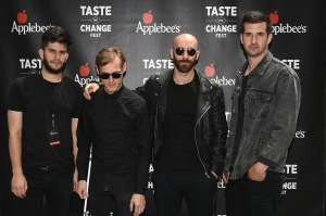 """NEW YORK, NY - MAY 13:  X Ambassadors attend the Applebee's Hosts """"Taste the Change Fest"""" in Times Square introducing New Menu on May 13, 2015 in New York City.  (Photo by Andrew H. Walker/Getty Images for Applebee's)"""