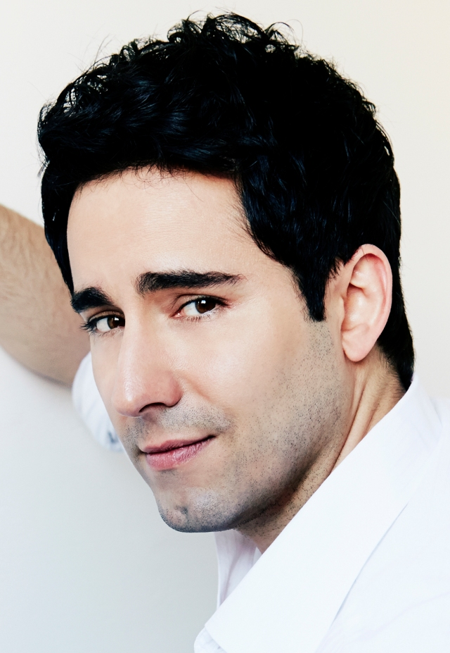 John Lloyd Young- Tony winner and Film Star (Jersey Boys), Singer and Artist. Photographed by Andrew Stiles, May 2014