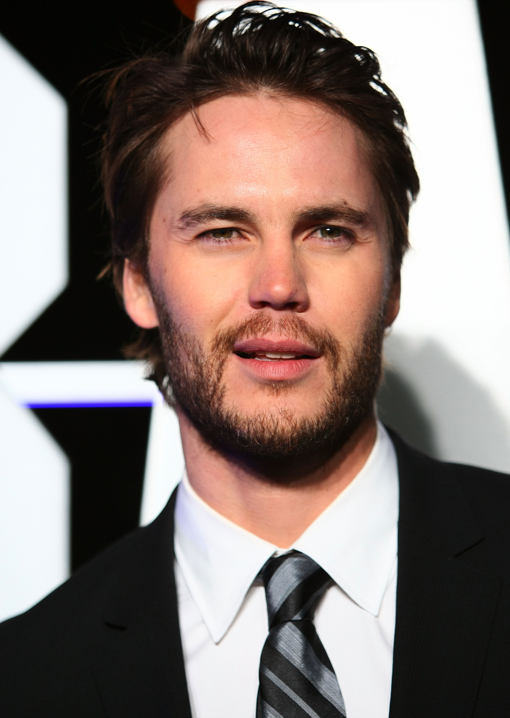Taylor Kitsch Sported Beard