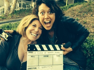 DIrector/Star -Ellen Gerstein and Director of Photography -Polly Morgan