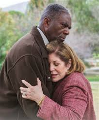 "Charlie Robinson as Michael Blake and Ellen Gerstein as Ann Chambers ""Come Away With Me"""
