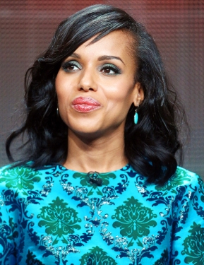 Actress Kerry Washington speaks onstage during the 'Grey's Anatomy,' 'Scandal,' and 'How To Get Away With Murder' panel discussion at the ABC Entertainment portion of the 2015 Summer TCA Tour; August 4, 2015 in Beverly Hills, California.
