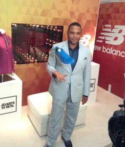nthony Anderson at new balance n extra