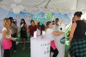 Freshen Up by (P&G's) Orgullosa engages attendees
