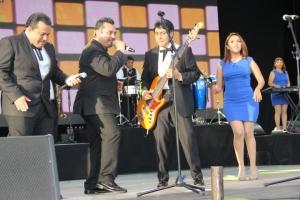 Los Angeles Azules performing classics