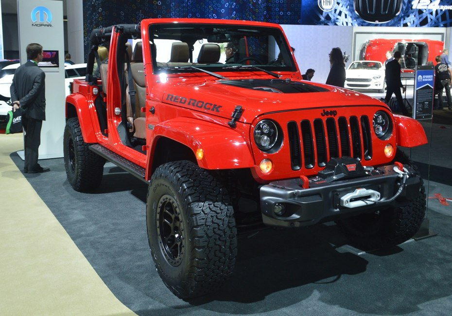 Based on the wrangler unlimited rubicon hard rock the red rock based on the wrangler unlimited rubicon hard rock the red rock concept features 35 in bfg k02 all terrain tires on 17 in beadlock wheels sciox Image collections