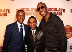 Tommy Davidson with Pookey Wigington and JB Smoove
