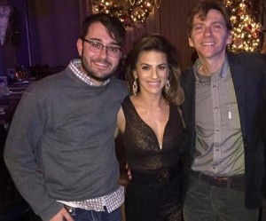 Coy Middlebrook, Renee Marino and Dante Russo. Image credit Renee Marino Official
