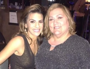 Renee Marino and THT reporter Michele Black