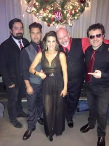 Renee Marino, Gerald Sternbach, Stephen Hernandez, Tony Pulizzi and Barlos Riviera Jr.