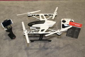Yuneec's Typhoon Q500+ photography and videography (APV) system drone. (Photo by: Fredwill Hernandez/THT)