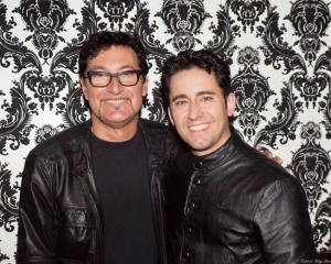 Musical Director Thomas Faragher and John Lloyd Young- Image credit Lily Lim