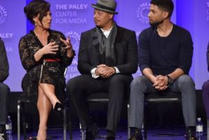 'Empire' Cast, Crew Talk Growing Pains, Diversity And Guest Stars At PaleyFest OpenerMandatory Credit: Photo by Rob Latour/REX/Shutterstock (5612893e) Sanaa Hamri, Terrence Howard and Jussie Smollett 'Empire' TV series screening, Inside, PaleyFest 2016, Los Angeles, America - 11 Mar 2016