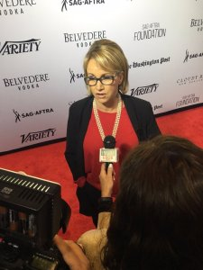 sagaftra President @TheGabrielle_C talking about women in journalism with press at #CelebrateJournalistspic.twitter.com/iAz15fEcN