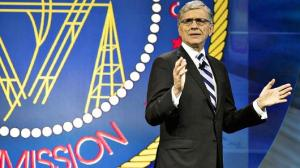 Federal Communications Commission chairman Tom Wheeler speaks at INTX