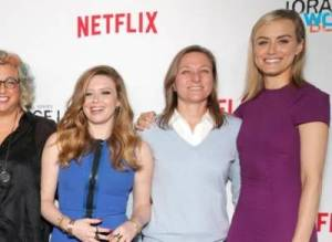 Creator Jenji Kohan and a handful of cast members from Orange is the New Black spoke to reporters about the upcoming season at the 2016 Winter TCA Press Tour
