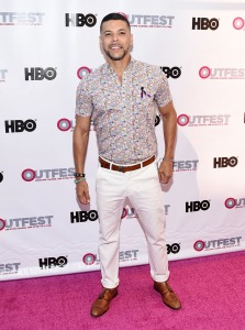 """LOS ANGELES, CA - JULY 07:  Actor Wilson Cruz arrives at the 2016 Outfest Los Angeles LGBT Film Festival Opening Night Gala of """"The Intervention""""  at the Orpheum Theatre on July 7, 2016 in Los Angeles, California.  (Photo by Amanda Edwards/WireImage)"""