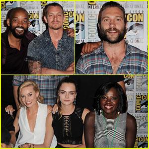 Suicide Squad cast Comic-Con 2016