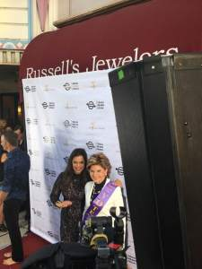 Kamala Lopez and Gloria Allred (Photo: THT)
