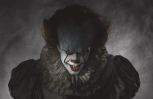 "The full image of Pennywise from the ""It"" remake"