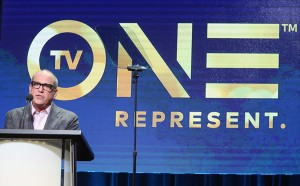 President of TV One Brad Siegel speaks onstage at the TV One portion of the 2016 Television Critics Association Summer Tour at The Beverly Hilton Hotel on August 1, 2016 in Beverly Hills, California. (July 31, 2016 - Source: Frederick M. Brown/Getty Images North America)