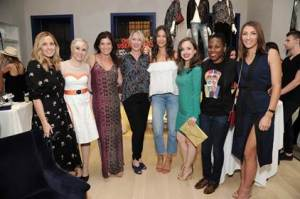 The Awesome Women honorees with Good Housekeeping Editor in Chief Jane Francisco and Co-host/honoree Rebecca Minkoff