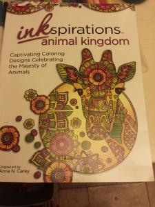 inkspirations animal kingdom book art by Anna N. Carey