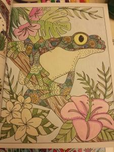 Inkspirations Animal Kingdom colored by THT Judy Shields