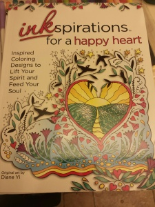 inkspirations for a happy heart book - art by Diane Yi