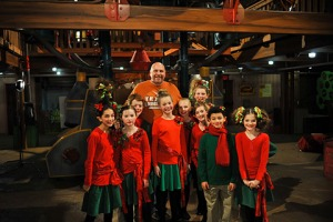 Ken Feinberg and his cast of kids
