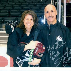 Megan Cavallari & Coach Daryl Evans
