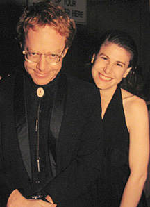 Megan with Mentor Danny Elfman