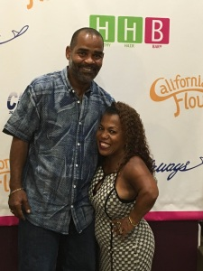 Tonya Banks with her boyfriend Kerwin