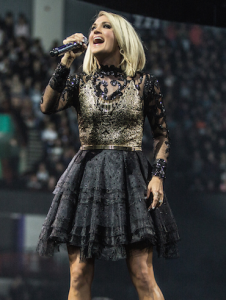 Carrie Underwood opening outfit