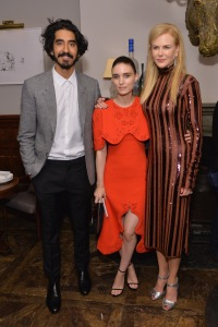 Dev Patel, Rooney Mara & Kidman