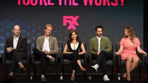 Falk (far left), with the stars of You're The Worst (Photo: Frank Micelotta/FX)