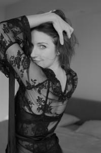 Geneviéve LeJeune wearing Dark Star http://darkeststar.co.uk/