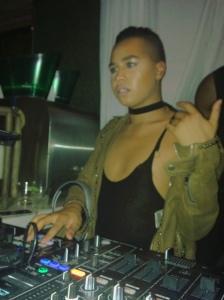 Jay Strut commanding the DJ booth