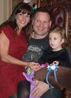 (L-R) Juliana Redding; Michele and Greg Williams
