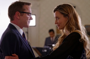 """DESIGNATED SURVIVOR - """"Pilot"""" - Kiefer Sutherland stars as Tom Kirkman, a lower-level cabinet member who is suddenly appointed President of the United States after a catastrophic attack on the U.S. Capitol during the State of the Union, on the highly anticipated ABC series """"Designated Survivor,"""" airing WEDNESDAY, SEPTEMBER 21 (10:00-11:00 p.m. EDT). (ABC/Ben Mark Holzberg) KIEFER SUTHERLAND, NATASCHA MCELHONE"""