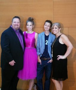 Mitch Carbon & Family