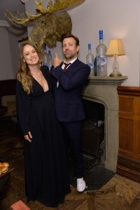 TORONTO, ON - SEPTEMBER 09:  (L-R) Actors Olivia Wilde and Jason Sudeikis at the Colossal TIFF party hosted by GREY GOOSE Vodka and Soho House Toronto on September 9, 2016 in Toronto, Canada.  (Photo by Stefanie Keenan/Getty Images for Grey Goose Vodka )