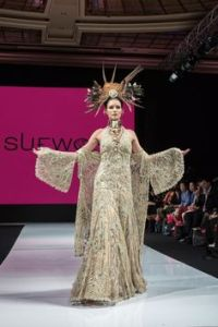 SUE WONG: ALCHEMY & MASQUERADE GORGEOUS ARTY PHOTOS BY SAM FU #runway #fashion #catwalk #suewong #beauty #magic #transformation