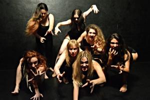 Top row - Emma Pauly, Deneen Melody, Marietta Melrose / Bottom row - Cheryl Doyle, Ashley J. Woods, Caitlin Fowler, Alariza Nevarez
