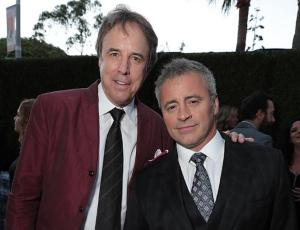 Kevin Nealon (left) and Matt LeBlanc of CBS' new fall comedy 'Man With a Plan' at the CBS/Showtime TCA party on Aug. 10 at the Pacific Design Center in West Hollywood. Credit: Eric Charbonneau/AP Invision for Showtime