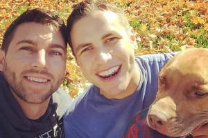 Nathan Johnson and Jared Milrad were the male same-sex couple in the Hillary Clinton campaign video. (Photo courtesy of Jared Milrad)