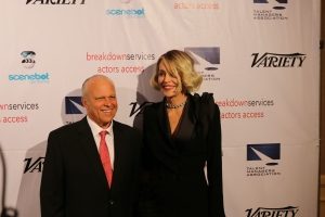 Sharon Stone and Chuck Binder