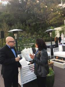American writer, performer and talk radio host, Frank DeCaro and Mind to Muscle's Jennifer Kalaitsides discuss the estates sell.